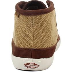 517d076816 Vans - Mens M Rata Mid Shoes In Bison Antique White