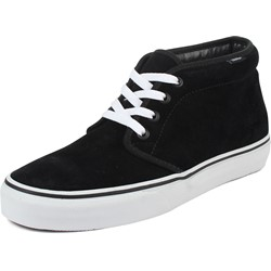 Vans - U Chukka Boot Shoes In Black/White