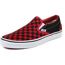 Vans - Unisex Adult Classic Slip-On Shoes In Black/Formula