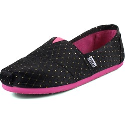 Toms - Youth Slip-On Gold Dot Shoes