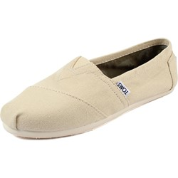 Toms - Womens Classic Canvas Slipon Shoes in Natural Canvas