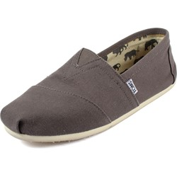 Toms - Mens Classic Canvas Slipon Shoes in Grey