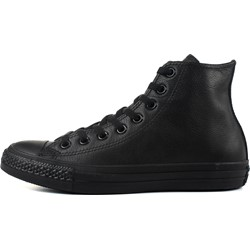 cc81d374ca98 Converse Chuck Taylor All Star Shoes (1T405) Leather Hi Black Monochrome
