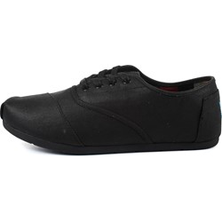 6e6cfde7f6d Toms. Toms - Mens Waxed Twill Cordones in Black