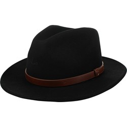 Brixton -  Messer Felt Fedora Hat In Black