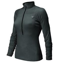 New Balance - Womens Impact Half-Zip Athletic Jacket
