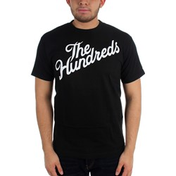 The Hundreds - Mens Forever Slant T-Shirt in Black