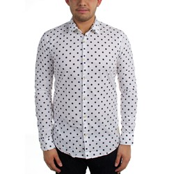 Scotch & Soda - Mens Polka Dot Print Woven