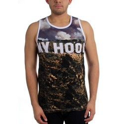 Famous Stars and Straps - Mens Hood Hills Sublimation Tank Top