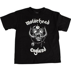Motorhead - Toddler England Toddler Tee in Black