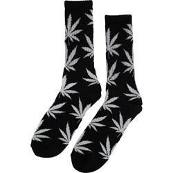 HUF - Mens Glow In The Dark Plantlife Crew Socks