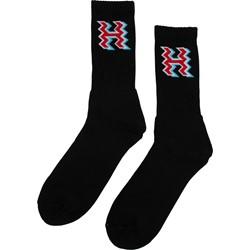 HUF - Mens Crooked H Crew Socks