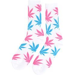 HUF - Mens Neon Plantlife Crew Socks