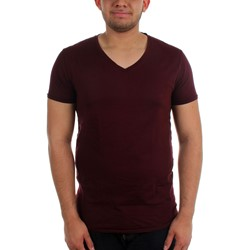 Scotch & Soda - Mens Garment Dye V-Neck T-Shirt