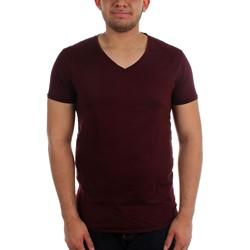 Scotch & Soda - Mens Garment Dye V-Neck T-Shirt