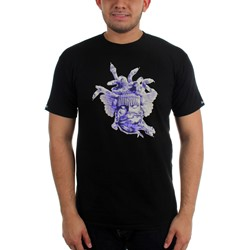 Crooks & Castles - Mens Ceramic Medusa T-Shirt