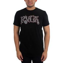 RVCA - Mens Stripe Script T-Shirt