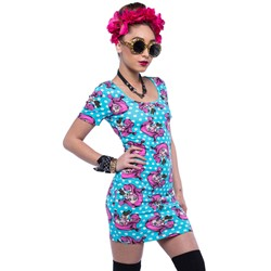 Iron Fist - Womens Lezi Gore Bodycon Dress