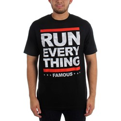 Famous Stars and Straps - Mens Run Everything T-Shirt