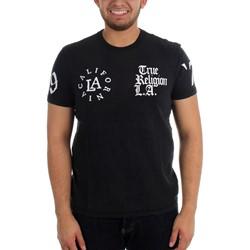 True Religion - Mens Multilogo Slub T-Shirt