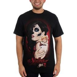 Sullen - Mens Muerta Rose T-Shirt