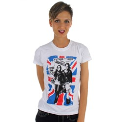 Future King - Union Jack Womens T-Shirt In White
