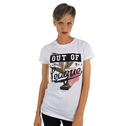 Civil - Womens Your League BF T-Shirt