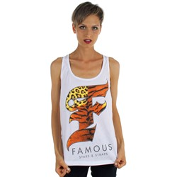 Famous Stars and Straps - Womens Wild F Jersey  Tank Top