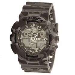G-Shock - Mens GA-100 Camoflauge Watch