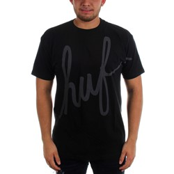HUF - Mens Big Script Reflective T-Shirt
