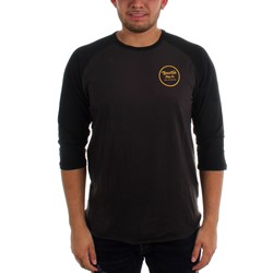 Brixton - Mens Wheeler 3/4 Sleeve T-Shirt