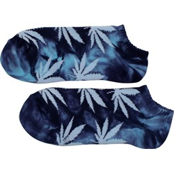 HUF - Mens Tie Dye Plantlife Ankle Socks