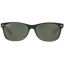 Ray-Ban - New Wayfarer Sunglasses in Top Black/Beige