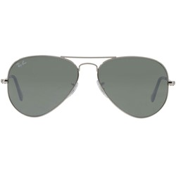 RAY-BAN RB 3025 W3275 SILVER AVIATOR METAL SUNGLASSES