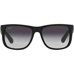 Ray-Ban - Mens Justin Sunglasses in Black, Eye Size: 55mm