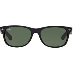 Rayban RB 2132 622 Black Rubber Sunglasses In Propionate