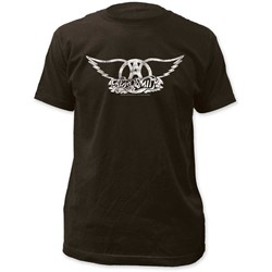 Aerosmith - Mens Logo Fitted Jersey T-Shirt