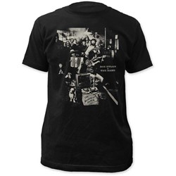 The Band - Mens The Basement Tapes Fitted Jersey T-Shirt