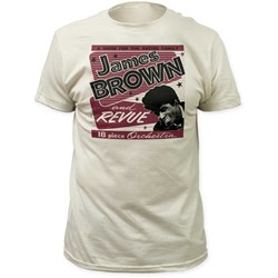 James Brown - Mens 18 Piece Orchestra Fitted Jersey T-Shirt