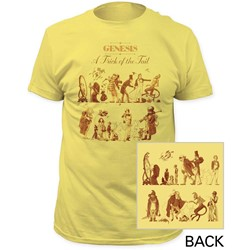 Genesis - Mens A Trick Of The Tail Fitted Jersey T-Shirt