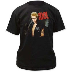 Billy Idol - Mens Idol Adult T-Shirt