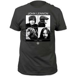 John Lennon - Mens 1940-1980 Fitted Jersey T-Shirt
