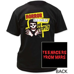 The Misfits - Mens Horror Business Adult T-Shirt
