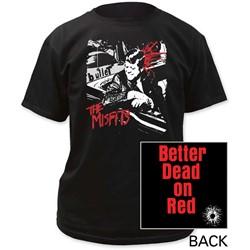 The Misfits - Mens Bullet Adult T-Shirt
