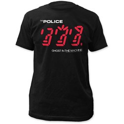 Police - Mens Ghost In The Machine Fitted Jersey T-Shirt