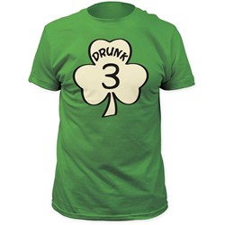 Impact Originals - Mens Drunk 3 Fitted Jersey T-Shirt