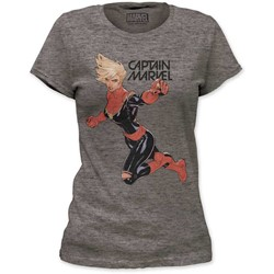 Captain Marvel - Womens Flight Fight Women'S Tri-Blend T-Shirt