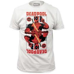 Deadpool - Mens Wild Card Fitted Jersey T-Shirt