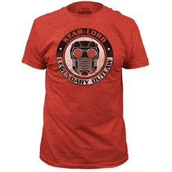 Guardians of the Galaxy - Mens Star-Lord Legendary Outlaw Fitted Jersey T-Shirt