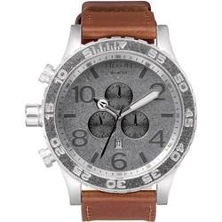 Nixon Men's 51-30 Chrono Leather Analog Watch